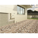 Mapetherm tile system for installing thin porcelain tiles on facades with an external insulation system