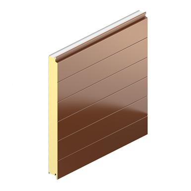 Bardage Plank PL avec isolant PIR