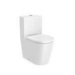 INSPIRA ROUND - Compact Vitreous china close-coupled WC