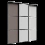 façade reflet 3 portes coulissantes