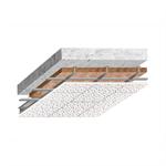 Continuous suspended ceiling Rigitone