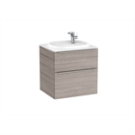BEYOND 600 Unik (base unit with two drawers with handles and FINECERAMIC® basin)