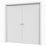 Corridor Hold-Open Double Door Solution