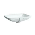 LAUFEN PRO S Built-in washbasin, undersurface ground 550 mm
