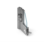 MB-45 two-winged door opening outwards with fixed window