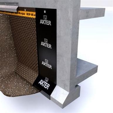 ALPAL® 3000 Underground walls - Waterproofing membrane process for underground walls