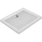 connect design receveur rectangulaire 100 x 80 cm