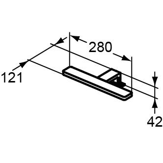 light prt lf1217-m 280 5.5w 230v 6000k