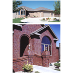 Residential Face Brick  - These Brick Are Available in a Variety of Colors, Textures and Several Sizes