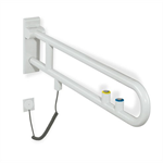 hewi opklapbare steun met spoel- en functietoets 801-50-510