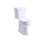 """k-3889-tr highline® comfort height® 1.28 gpf toilet, 10"""" rough-in, right-hand trip lever, tank locks"""