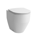 LAUFEN PRO Floorstanding WC 'rimless', washdown, without flushing rim, outlet horizontal/vertical