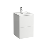 KARTELL BY LAUFEN Combination of washbasin with vanity unit 500 mm