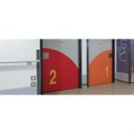 inlaid signage - numerals