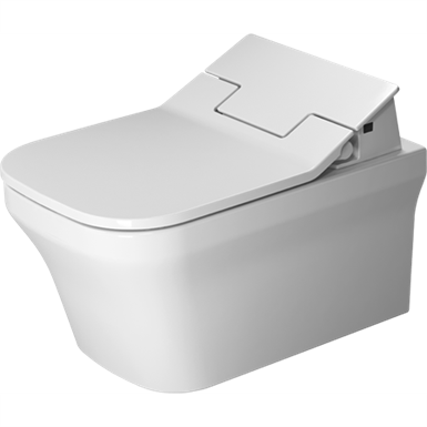 p3 comforts toilet wall mounted duravit rimless¨ 256159