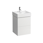 KARTELL BY LAUFEN Vanity unit for 810332, 2 drawers, incl. drawer organiser, matches washbasin 810332