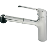 retta kitchen mixer one hole single lever hand with pull out spout, low pressure