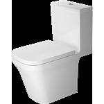 p3 comforts toilet close-coupled duravit rimless¨ 216309