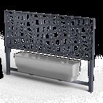 a-linea treillis barrier