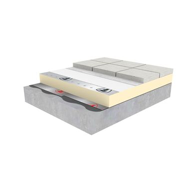 ultraply tpo roof ballasted system (terrace)
