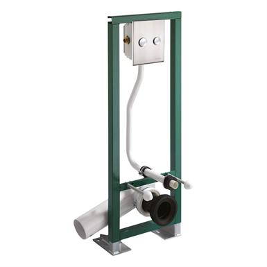 18460 presto mounting frame  p1000 xla dva dual flush lvl0