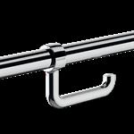 510081p wc-papierhalter für stützgriff, verchromt