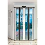 Folding Door, FFT Flexgreen Wall Mount BiParting Wall-Hosted