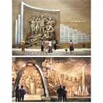 Brick Murals And Sculpture