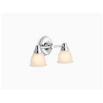 forté® two-light sconce