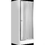 Zoom niche pivot shower door