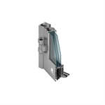 MB-86SI door opening inwards with fixed window