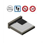 systèmes pour toitures accessibles parking avec protection asphalte