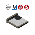 systems for accessible roof parking with asphalt protection