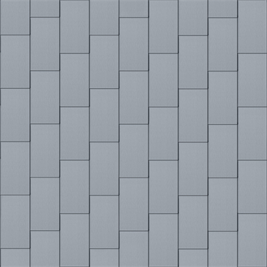 bardeaux façade (333 mm x 600 mm, vertical, prepatina clair)