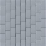 großraute fassade (333 mm x 600 mm, vertikal, prepatina blaugrau)