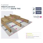 plafonds siniat prégymétal résistant au feu avec isolant biosourcé biofib
