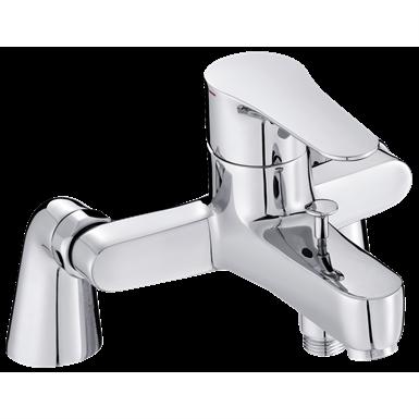 july - single-lever deck-mount bath/shower mixer