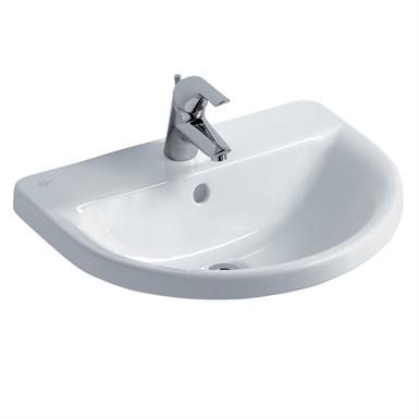 concept arc 55cm countertop washbasin, 1 taphole