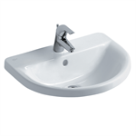 concept arc 55cm countertop washbasin, 1 taphole