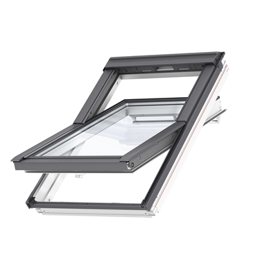 top operated pinewood roof window centre-pivot - ggl