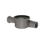 """kessel-drain body """"the superflat"""" 42701 lateral outlet ø50, one inlet ø40"""