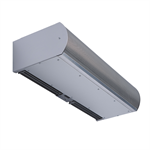 Berner Architectural Low Profile 8 Air Curtain - Hot Water - Series # ALC08