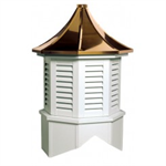 Providence Series Louvered Cupola Is An Octagon With A Pagoda Style Roof