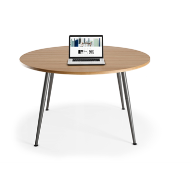 skinny - table de réunion ronde
