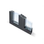dzao door window 2 leaves visible opening no thermal break