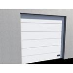 industrial micro grooved door ral 9010 vertical lift