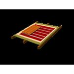 Sistema Onduline Subtelha DRS para forro de madeira e acabamento em telha Lusa