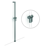 Cavere Shower head rail, movable for shower handrail, can be added at a later stage, c/c = 1200