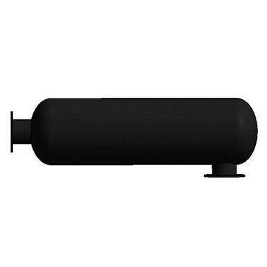 external exhaust silencer