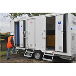 6-person construction trailer